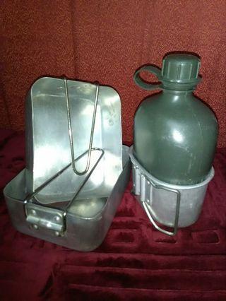 Set Water Bottle & Mestin