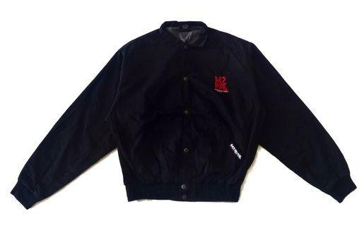 Vintage No Fear Dangerous Gear Sport Spell Out Jacket