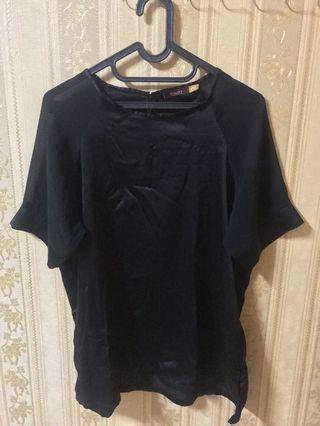 bigsize jumbo simple black top