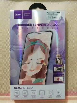 Apple I-Phone XS Max Full Screen Mirror Tempered Glass