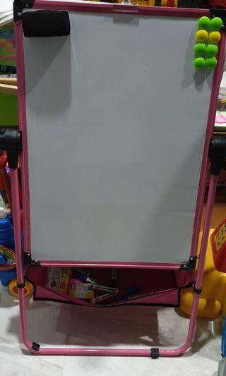 White Board And Chalk Board