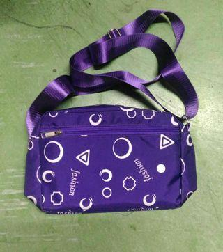 Purple Nylon Bag
