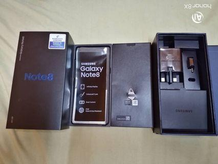 Samsung Galaxy Note 8 Fullset Box Like New