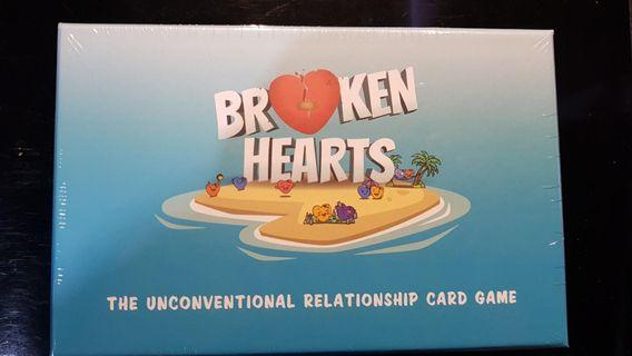 Wanted to Sell/ Trade Brand New Broken Hearts Card Game.