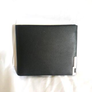 [⏰TIME SALE] Plain Short Fold Wallet For Men
