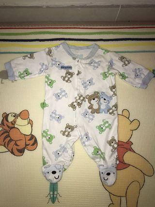 Carter's 熊仔連身衫