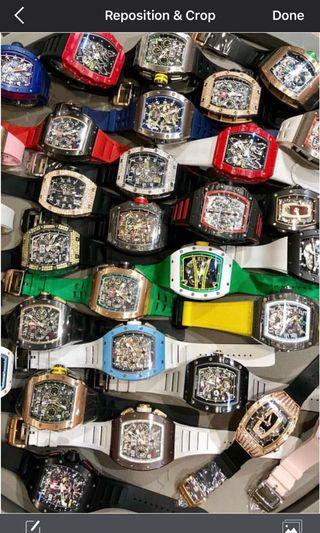Buying ALL Richard Mille