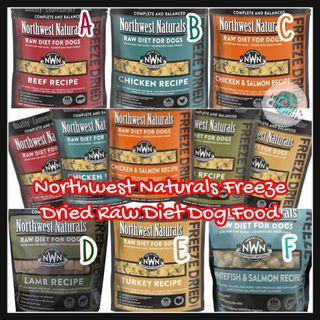 美國🇺🇸Northwest Naturals Freeze Dried Raw Diet For Dogs (12-oz)