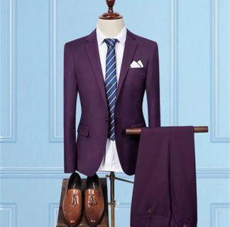 Purple Two-Piece Suit