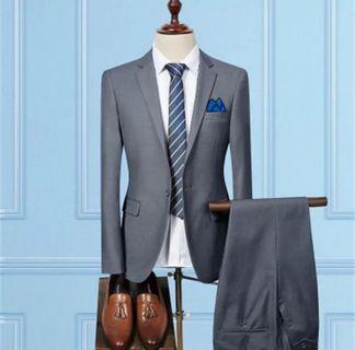 Dark Gray Two-Piece Suit