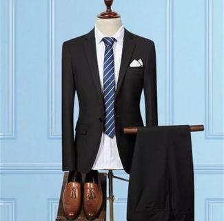 Black Two-Piece Suit