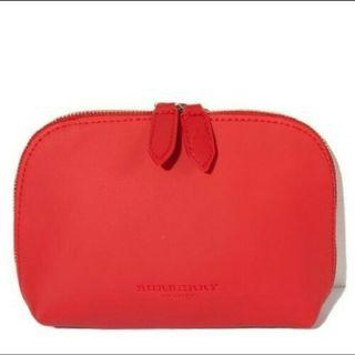 BURBERRY Beauty Red Pouch. New