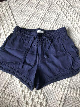 Wilfred Free Navy Knowles Short Xxs