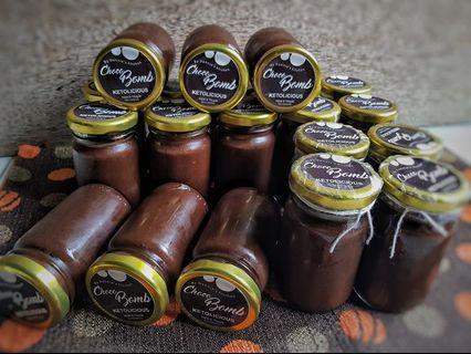 Keto Chocolate Ganache Spread Diabetic Bread Low Carb Sugar Free Dark Choco
