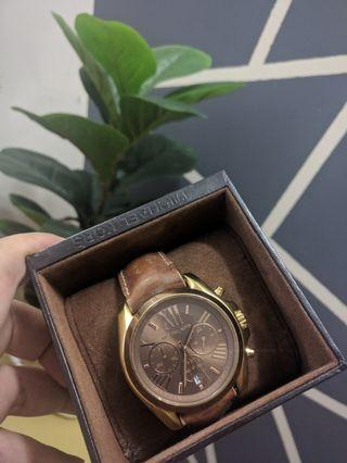micheal kors women leather watch for sale