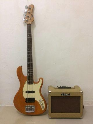 Bass Cort GB34A vintage look