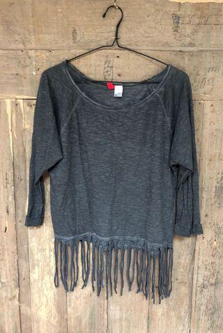 Divided by H&M Fringe Top