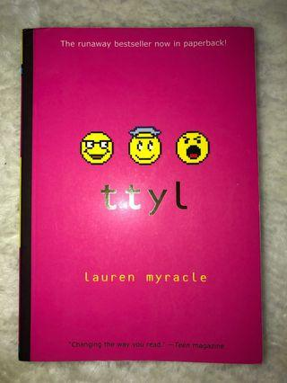 Ttyl By Lauren Myracle