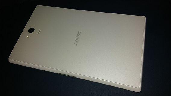 日系平板手機 Sharp Aquos Tab SH-06F(己解鎖, 可正常使用香港4G網絡)