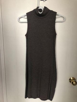 TNA Mock Neck Dress