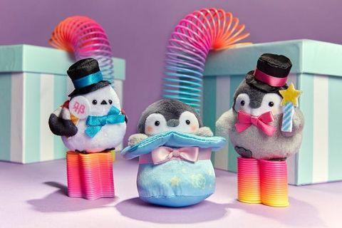 日本限定 正能量企鵝 koupenchan 魔術師系列手玉 杯 吊飾  file 匙扣訂購