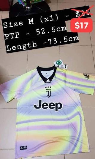 Adult Juventus jersey(purple yellow)