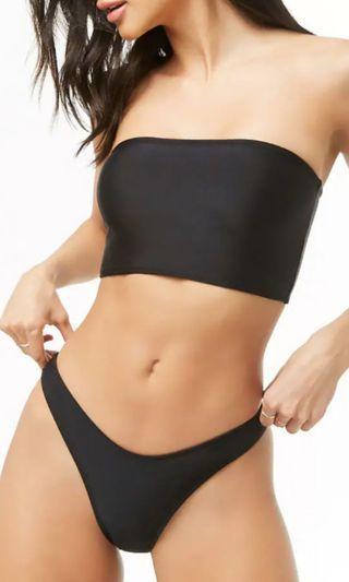 Black bikini two piece