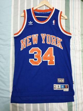 NEW Authentic Adidas Originals Men's NBA Swingman New York Knicks 1990-91 Retro Jersey S #EndgameYourExcess