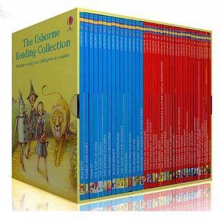 <Usborne> Reading Collection 40冊套裝 我的第三個圖書館