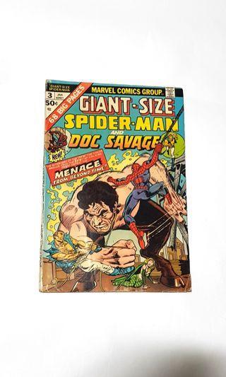Giant size Spider-Man 3 Doc Savage #EndgameYourExcess