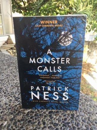 A Monster Calls By Patrick Ness ✨