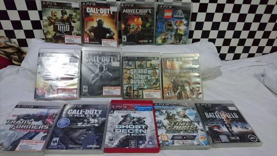 BUNDLE Ps3 Cheap $60 For all ( Fast Deal)
