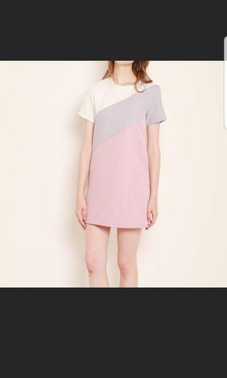 Shopsassydream colorblock dress