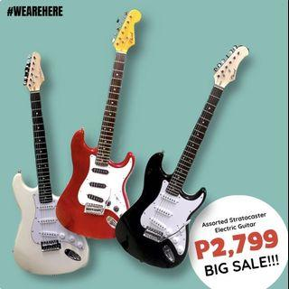 Summer Sale! Electric and Bass Guitars
