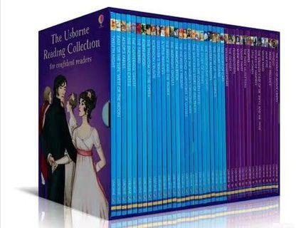 <Usborne> Reading Collection for Confident Readers 40冊套裝 我的第四個圖書館