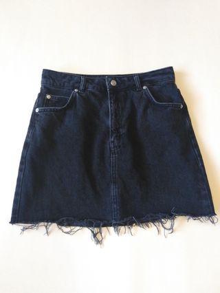 TOPSHOP MOTO DENIM Skirt