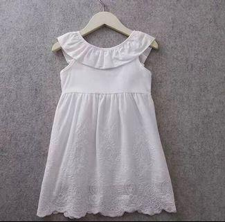 White Dress girl baby