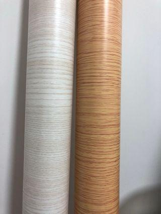 Wood Grain 5 Metres PVC Stickers