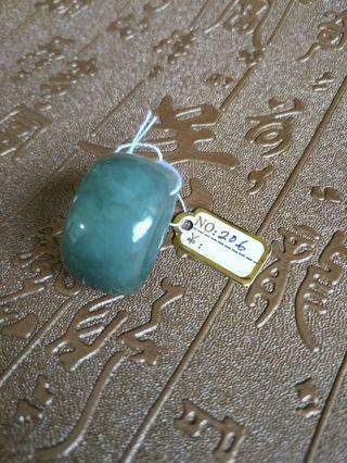 Jadeite Ring 斑指玉戒 内径20.6mm