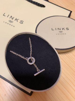 全新 Links Of London 925 頸鏈