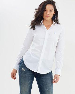 BRAND NEW Ralph Lauren Slim Fit Shirt size 8 (us 4)