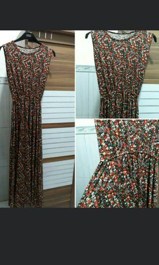Gamis Long Dress Jersey Super