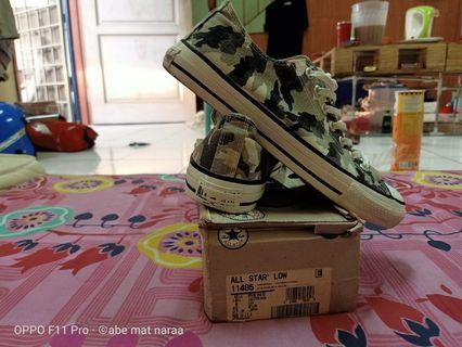 90' converse urban charcoal camouflage lowcut
