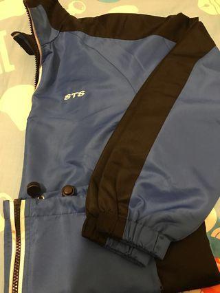 西貢祟真中學 長袖運動PE外套