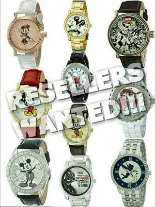 LF Looking for Active Resellers Authenthic Disney Watches from US