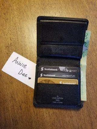 Authentic Louis Vuitton Taiga Ardoise Wallet