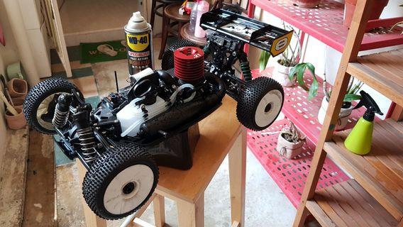 Losi 8ight buggy 1/8 scale nitro fuel