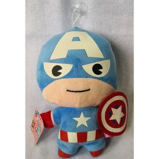 Cute Captain America Soft Toy