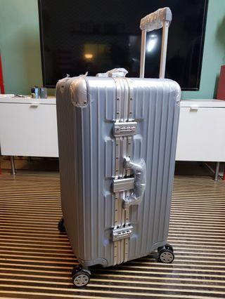NEW! Aluminium Frame Zipless 360° Luggage