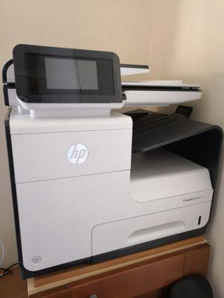 HP  Pagewide Pro MFP 477dw Printer print scan copy fax automatic double sided print scan